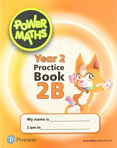 Power Maths Year 2 Pupil Practice Book 2B (Power Maths Print) from Pearson Education