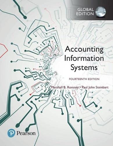 Accounting Information Systems, Global Edition from Pearson