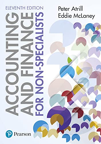 Accounting and Finance for Non-Specialists 11th edition from Pearson
