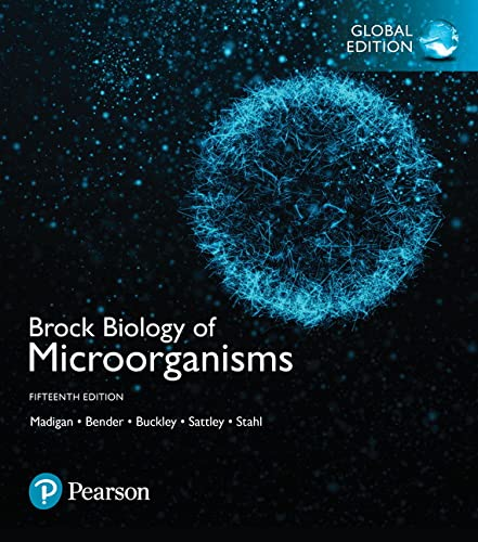 Brock Biology of Microorganisms, Global Edition from Pearson