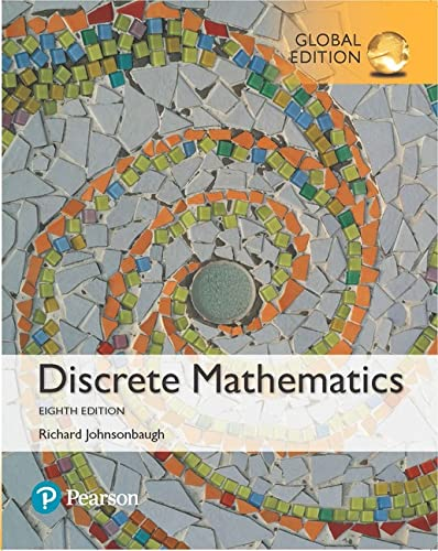 Discrete Mathematics, Global Edition from Pearson