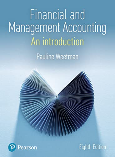 Financial and Management Accounting from Pearson
