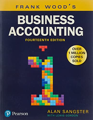 Frank Wood's Business Accounting Volume 1 from Pearson