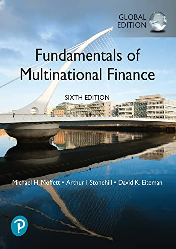Fundamentals of Multinational Finance, Global Edition from Pearson