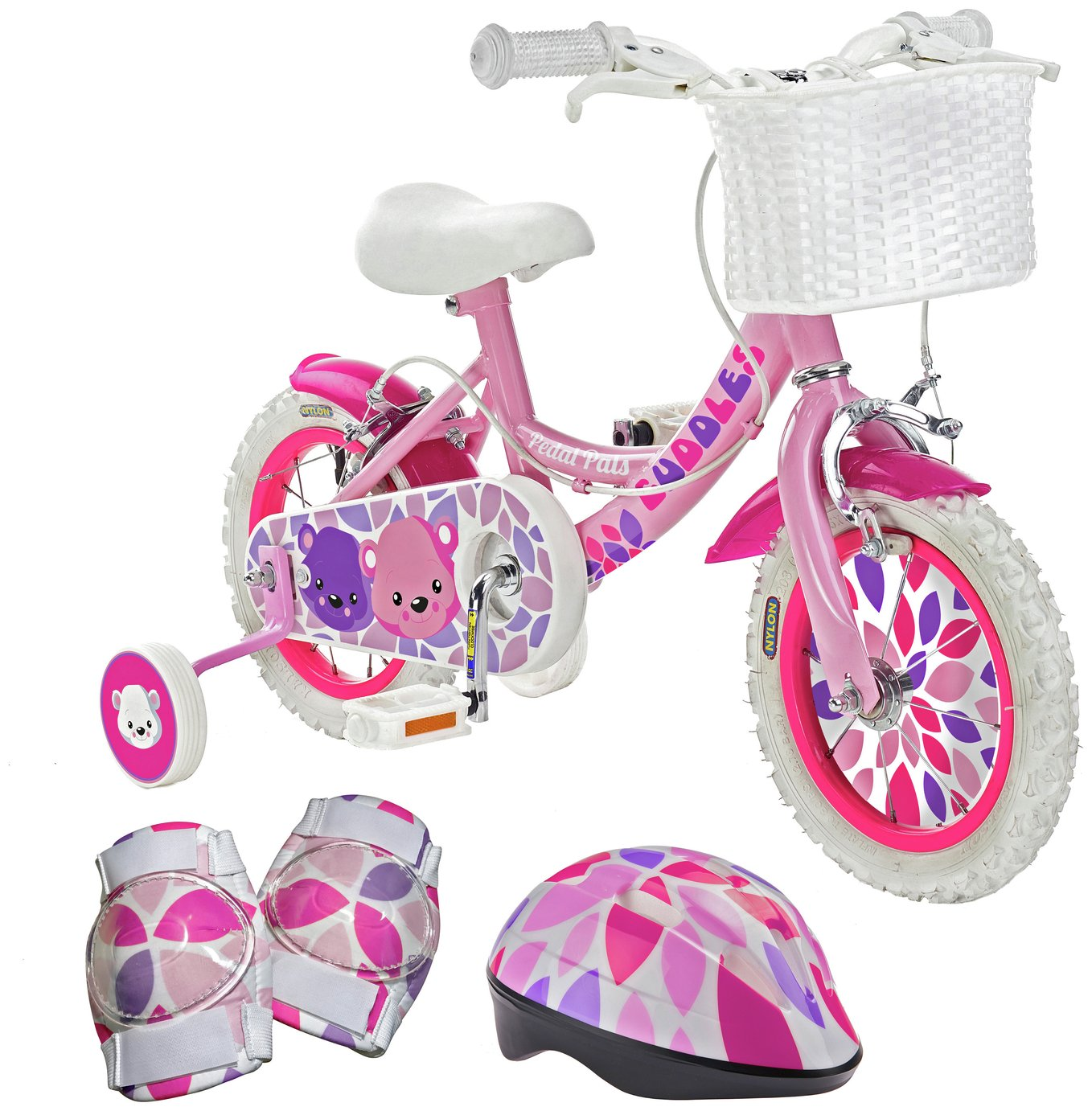 aceba9c85e8 Pedal Pals 12 Inch Cuddles Kids Bike and Accessories Set from Pedal Pals