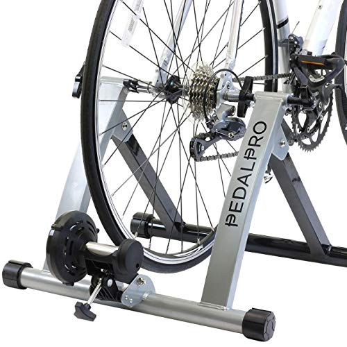 PedalPro Bicycle Turbo Trainer - Turns Cycle Into Fitness/Speed/Exercise Training Bike from PedalPro