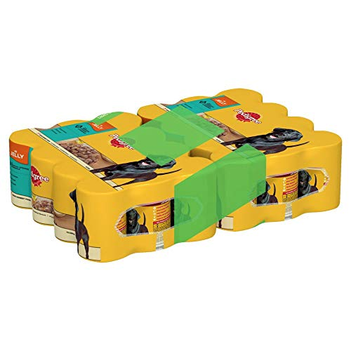 Pedigree Dog Tins 400gm 24 for 20 from Pedigree