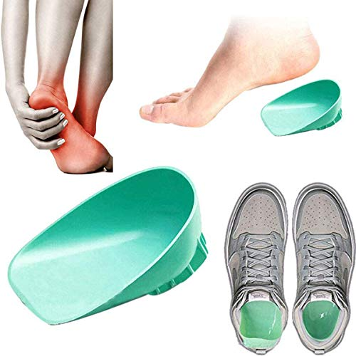 Shock Absorbing Heel Cups by Pedimend - Heel Cups for Achilles Tendonitis - Heel Cushions for Heel Spur, Heel Pads Great for Plantar Fasciitis - Men & Women - Foot Care from Pedimend
