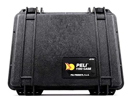Peli 1150 case without foam for camera, black from Peli