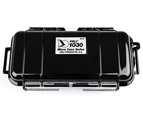 Peli Microcase 1030 Black with Black Liner from Peli