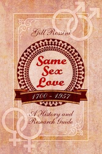 Same Sex Love 1700-1957 from Pen & Sword History