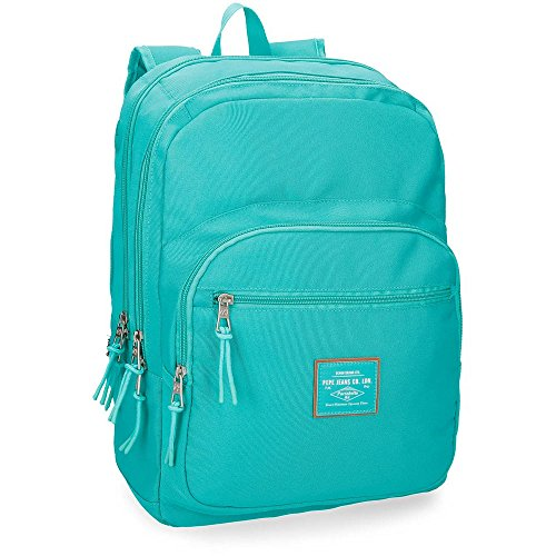 Pepe Jeans Cross Green Adaptable backpack 44 cm, double compartment from Pepe Jeans