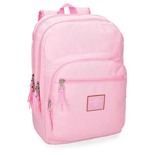 Pepe Jeans Cross Pink Adaptable backpack 44 cm, double compartment from Pepe Jeans