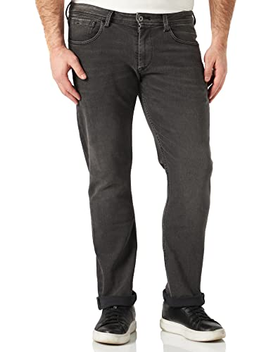 Pepe Jeans Men's CASH PM200124 Jeans Blue (Denim 11oz Streaky Stretch Dk) 32W/30L from Pepe Jeans