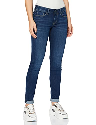 Pepe Jeans Women's Soho Jeans, Blue (Denim), W28/L28 (Manufacturer Size:28) from Pepe Jeans