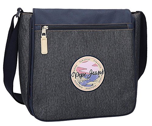 Pepe Jeans Yelena Messenger Bag, 32 cm, 9.6 liters, Blue (Azul) from Pepe Jeans