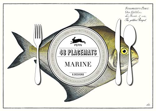 Marine: Placemat Pad: Paper Placemat Pads from Pepin Press