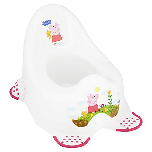 Peppa Pig Steady Potty with Non Slip Feet - Princess Peppa from Peppa Pig - Solution EU Limited