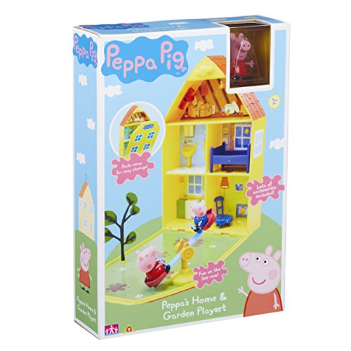 "Peppa Pig 06156 ""Peppa's House & Garden Playset from Peppa Pig"