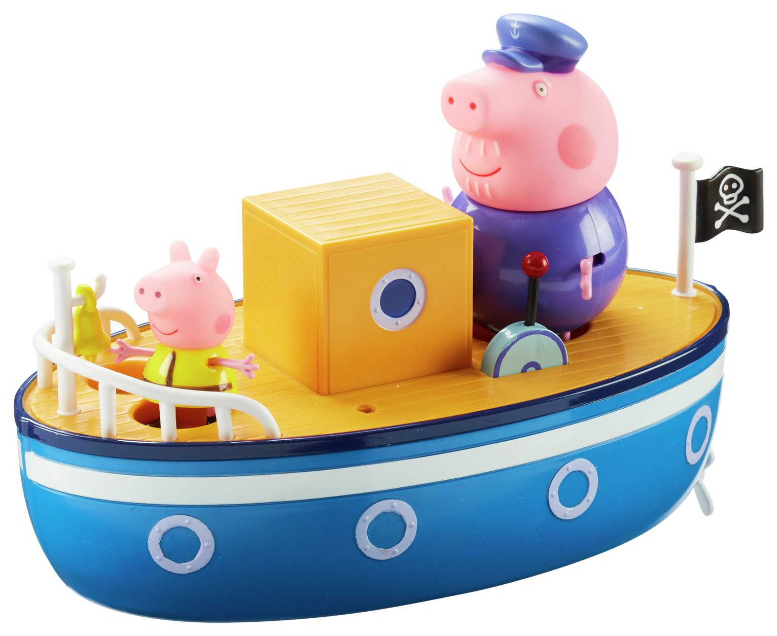 Peppa Pig - Grandad Dog's Pirate Ship from Peppa pig