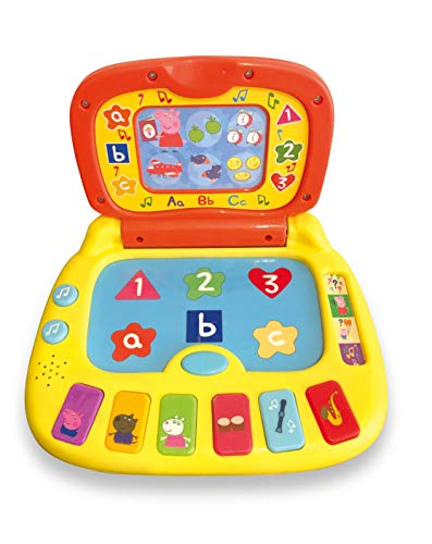 Peppa Pig PP02 Laugh and Learn Laptop Electronic Toy from Peppa Pig