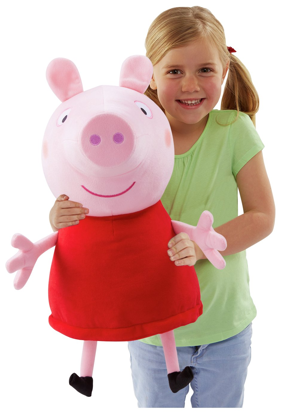 Peppa Pig Giant Talking Peppa Soft Toy from Peppa pig