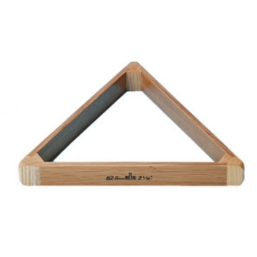 "2 1/16"" Quality Solid Oak Triangle for Full Size Snooker Balls from Peradon"