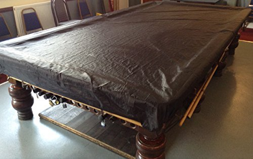 Fitted Black Peradon 12ft Snooker Table Dust Cover from Peradon