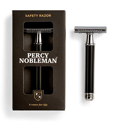 Percy Nobleman Safety Razor. No Blades Included. from Percy Nobleman