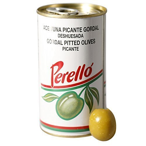 Perello Gordal Pitted Green Olives Picante, 350g from Perello