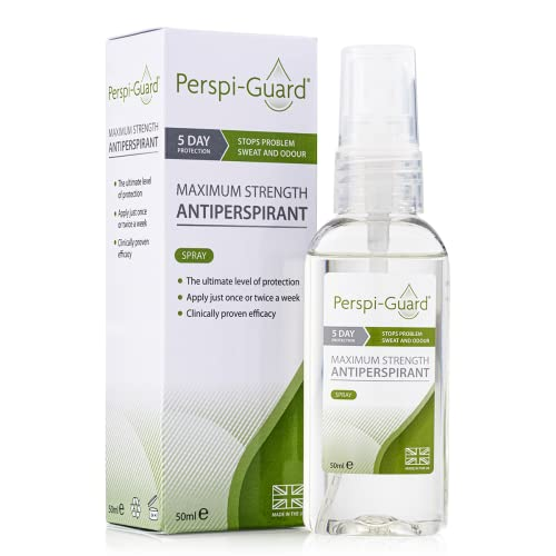 Perspi-Guard Maximum Strength Antiperspirant Spray - 50ml from Perspi-Guard