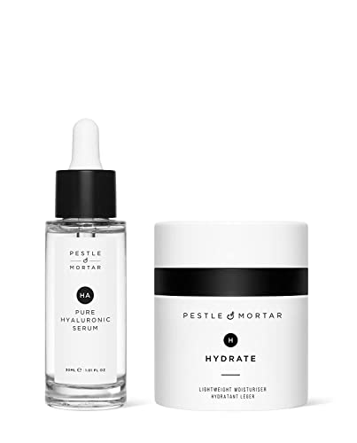 Pestle & Mortar Hydrating Duo Gift Set - Pure Hyaluronic Serum 30ml from Pestle & Mortar Cosmetics