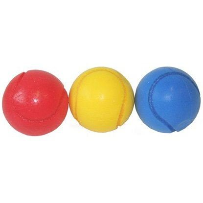 Peterkin Pack of 3 Sponge Tennis Balls from Peterkin