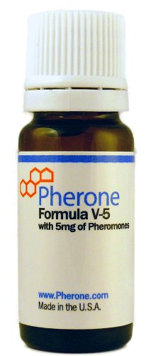 Pherone Formula V-5 for Men to Attract Women, with Pure Human Pheromones from Pherone