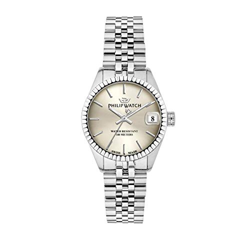 Philip Watch Women's Watch, Caribe Collection, Three Hands with Date , Made of Stainless Steel - R8253597548 from Philip Watch