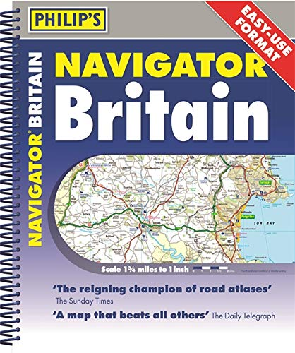 Philip's 2020 Navigator Britain Easy Use Format: Spiral from Philip's
