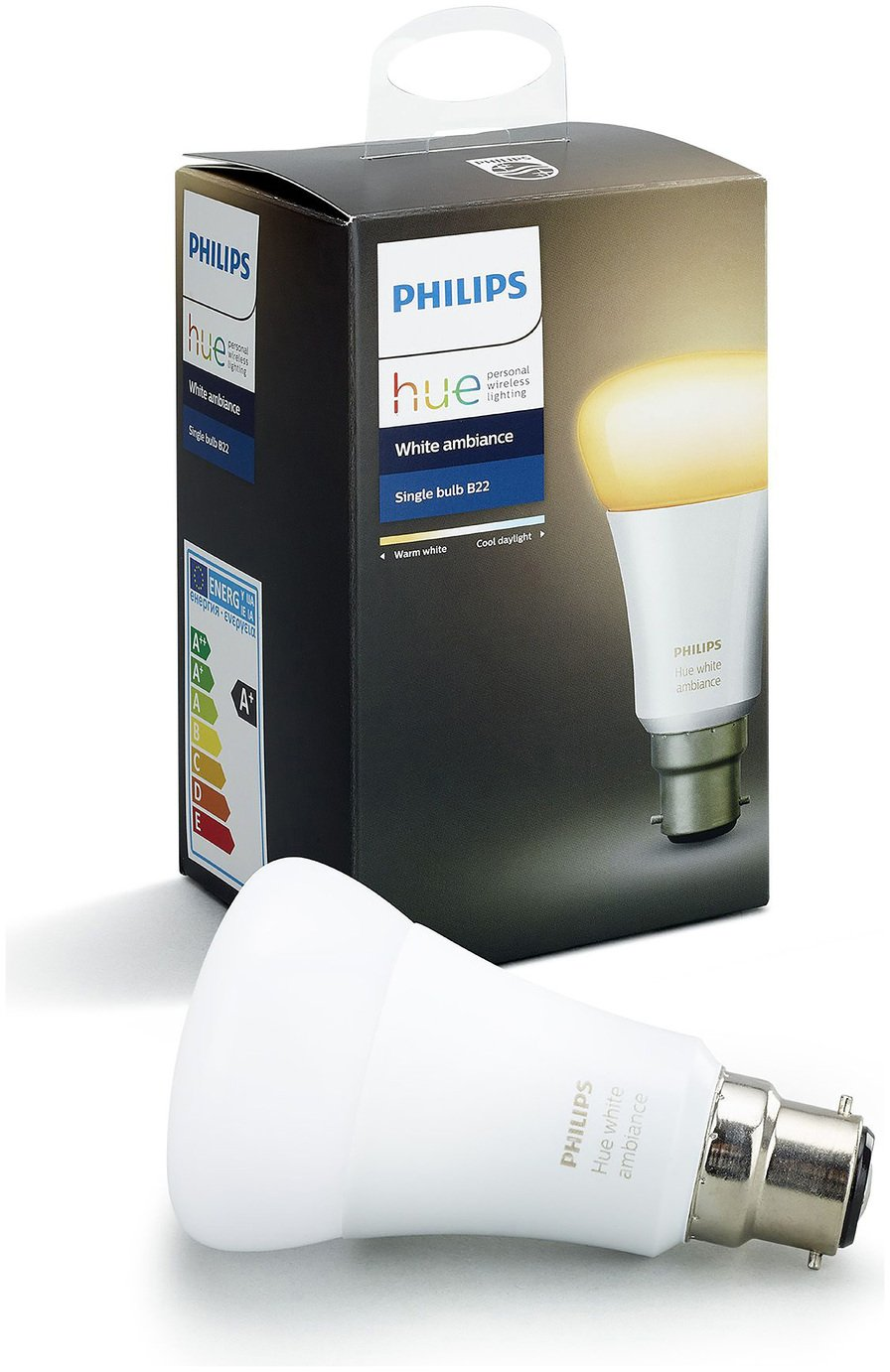 Philips - Hue White Ambiance 95W A60 B22 from Philips hue