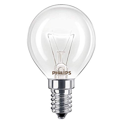 2 x Philips Oven 40w Lamp SES E14 Small Screw Cap 300Ã'° Cooker Light Bulb Fits AEG/Bosch/Siemens/Neff/Hotpoint from Philips