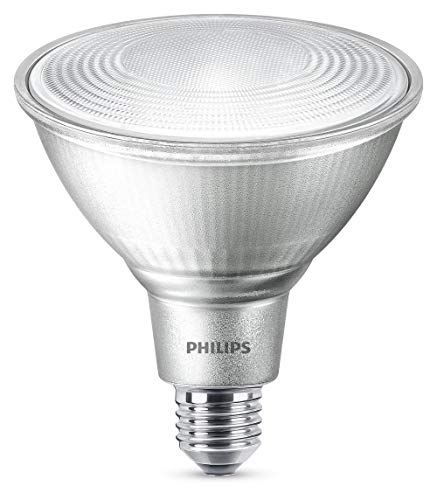 Philips 8718696713501 A +, LED Classic 100 W PAR38 Warm White 25D D SRT 4, Glass, 13 Watts, E27, Clear, 12.2 x 12.2 x 1.34 from Philips