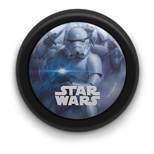 Philips Battery Operated Star Wars Children's Portable LED Night Light, 0.3 W - Black from Philips