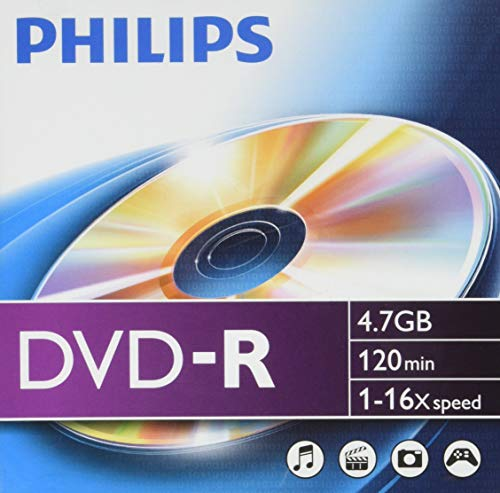 Philips DM4S6S10F/00 DVD-R Blank Discs 10er from Philips