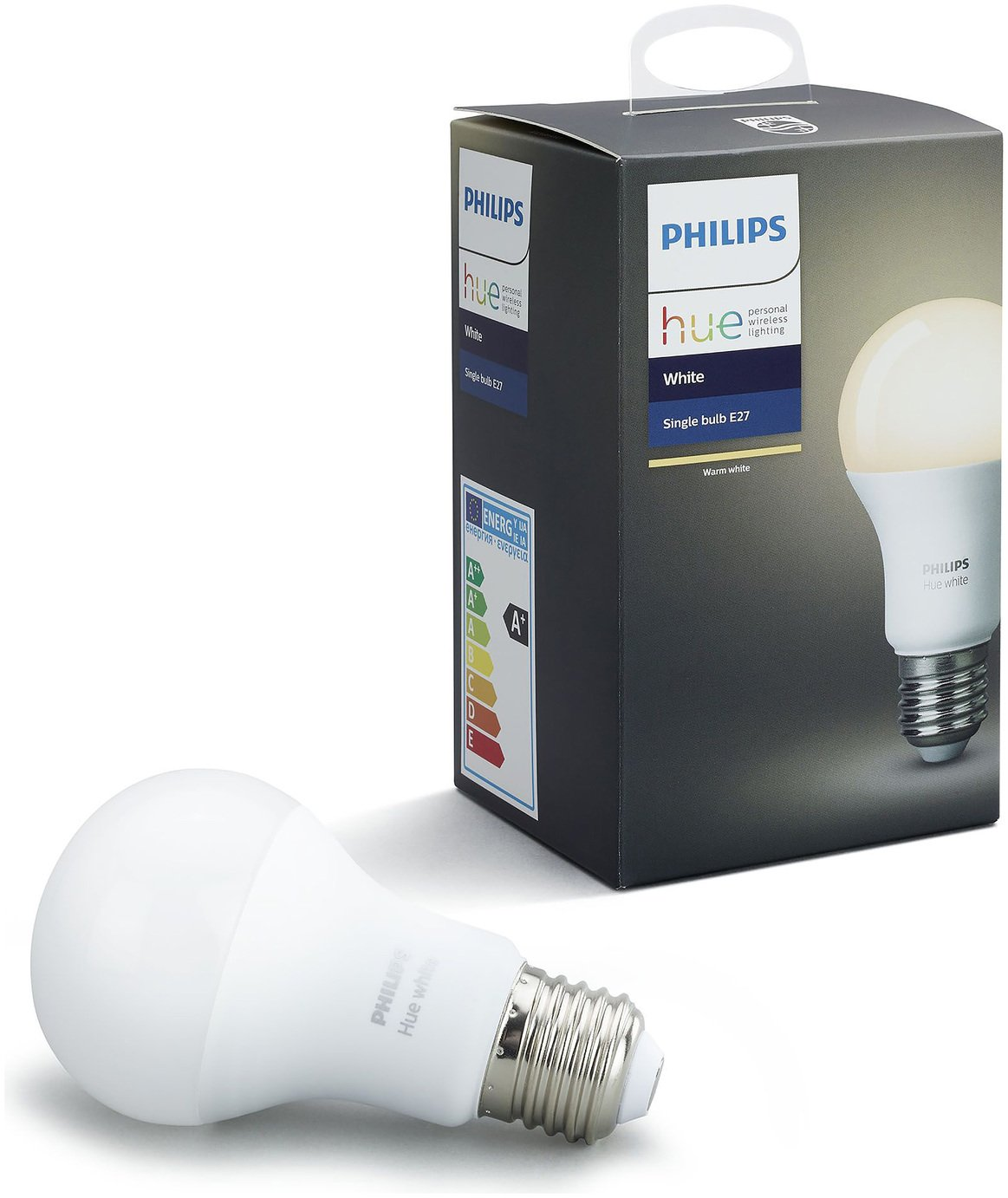 Philips - Hue White Wireless LED 95W E27 Light Bulb from Philips