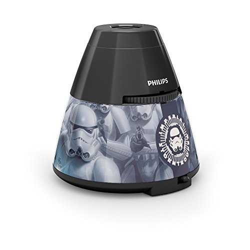 Philips LED Star Wars 4.5 V Children's Night Light and Projector, 0.1 W - Black from Philips