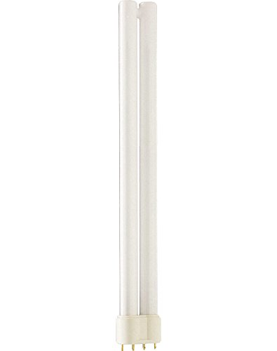 Philips Master L Low Energy Lighting 4 Pin Long Single Tube CFL 24w 2G11 Warm White (3000k) 10000 Hours, 24 W from Philips