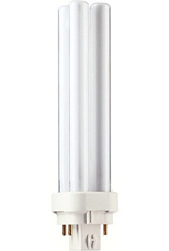 Philips - PL-C 18W Bulb, Extra Warm White Light (827), 4P G24Q-2 from Philips