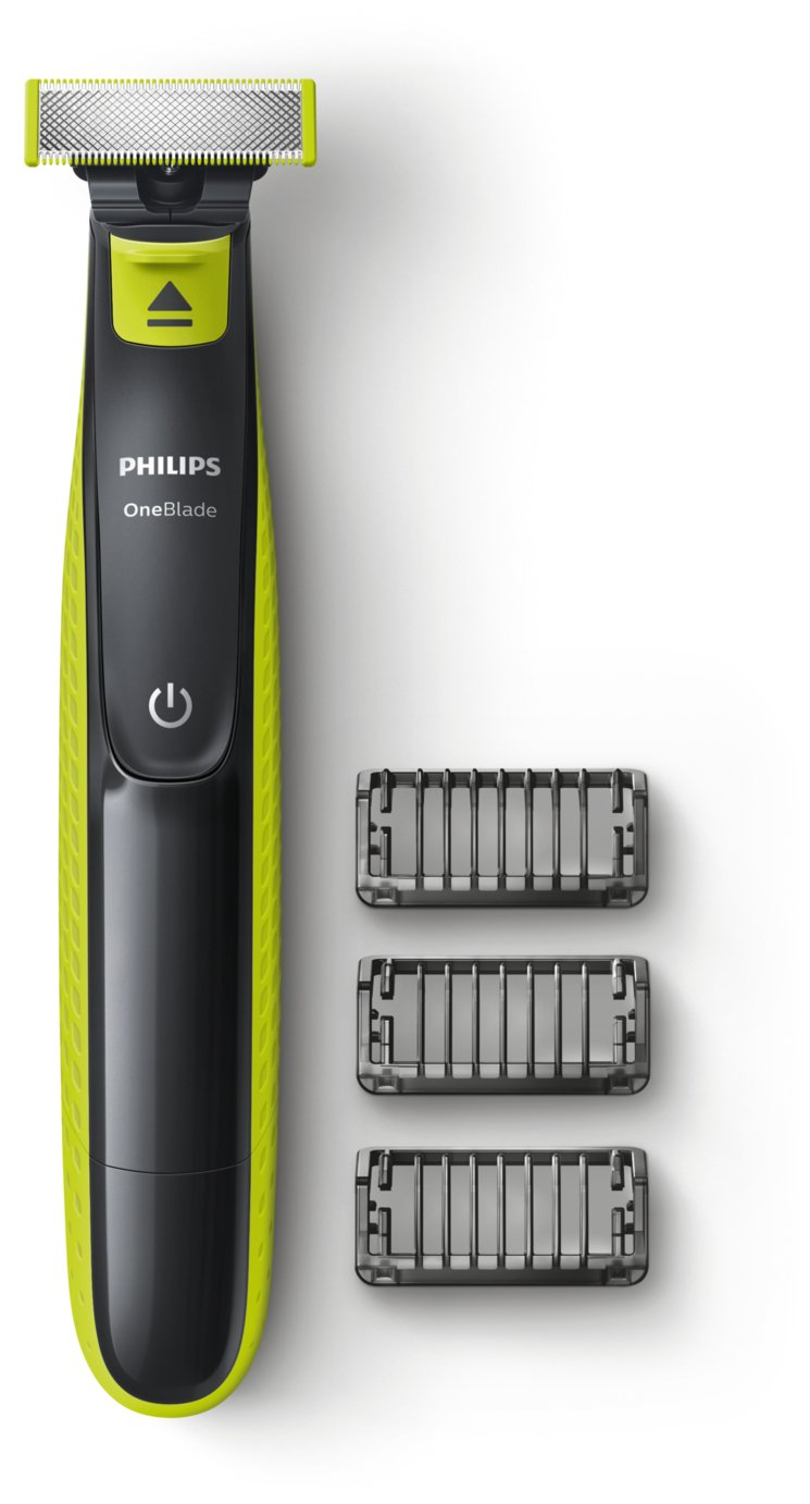 Philips Wet and Dry Oneblade Trim, Edge and Shave QP2520/25 from Philips