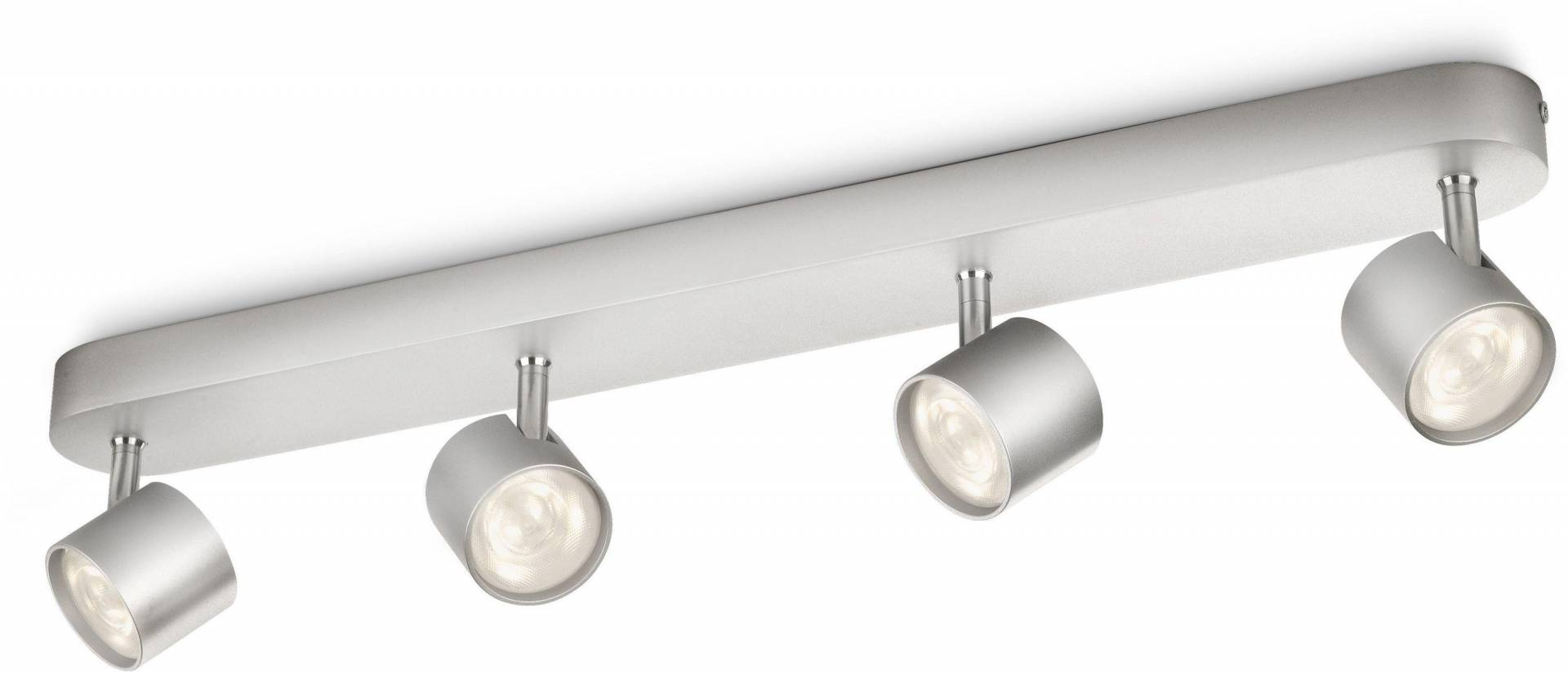 Philips - myLiving LED Bar 4 Ceiling Spot Lights - Aluminium from Philips