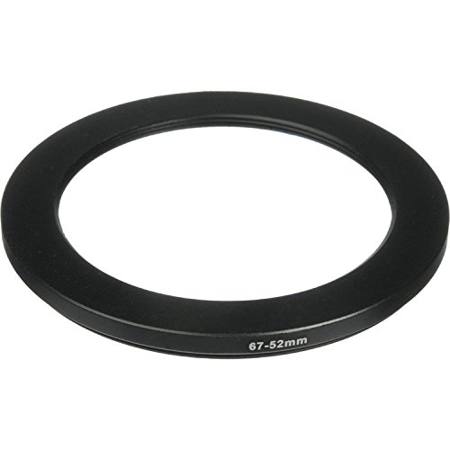 Phot-R® 67-52mm Metal Step-Down Ring Adapter for Camera Filters and Lenses from Phot-R®