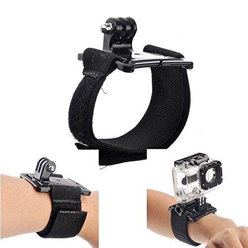 Phot-R Elastic Adjustable Wrist Hand Strap Band Mount for GoPro HD Hero 4 3+ 3 2 Action Camera from Phot-R