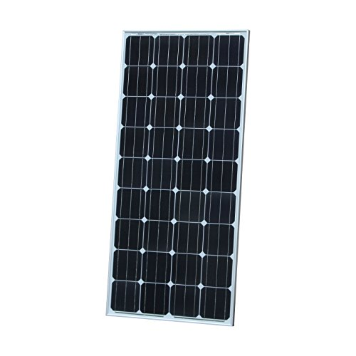 160W Photonic Universe monocrystalline solar panel with 5m of solar cable, for charging a 12V battery in a motorhome, caravan, campervan, RV, boat or yacht, or off-grid/backup solar power systems from Photonic Universe